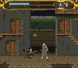Pantallazo del juego online Mary Shelley's Frankenstein (Snes)