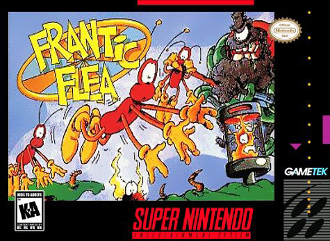 Portada de la descarga de Frantic Flea
