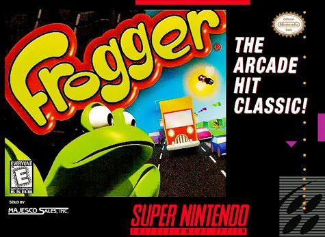 Portada de la descarga de Frogger