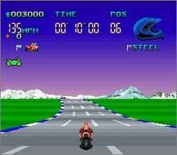 Pantallazo del juego online Full Throttle Racing (Snes)