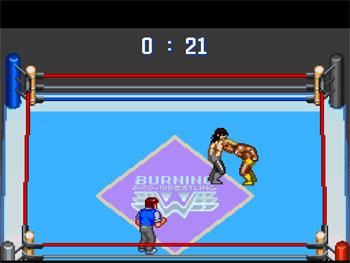 Imagen de la descarga de Gekitou Burning Pro Wrestling