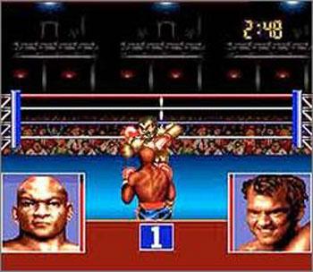 Pantallazo del juego online George Foreman's KO Boxing (Snes)