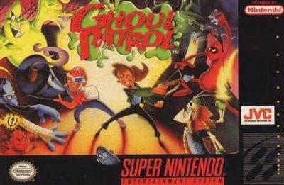 Carátula del juego Ghoul Patrol (Snes)