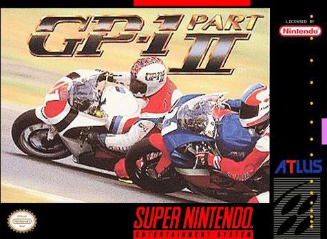 Carátula del juego GP-1 Part II (Snes)