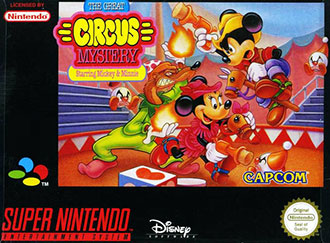 Juego online The Great Circus Mystery starring Mickey and Minnie (SNES)