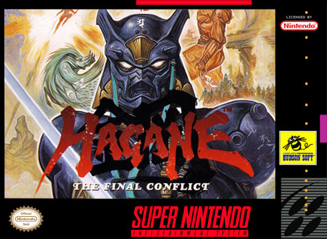 Carátula del juego Hagane - The Final Conflict (Snes)