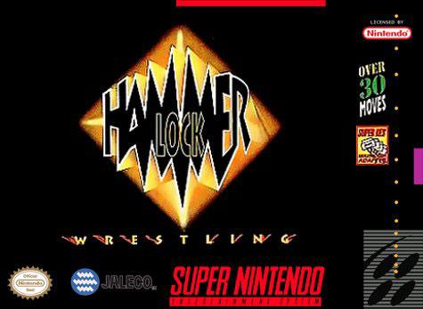 Carátula del juego Hammerlock Wrestling (Snes)