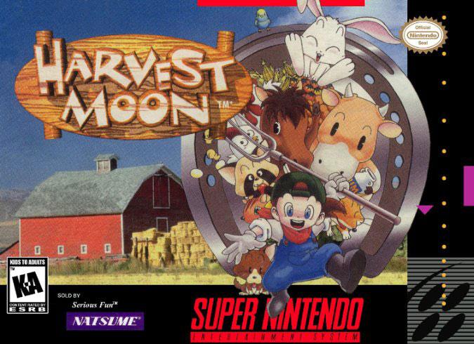Carátula del juego Harvest Moon (Snes)