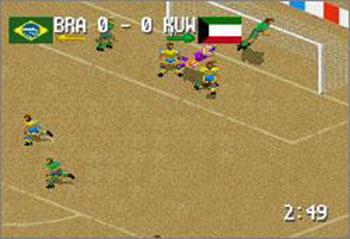Pantallazo del juego online Head-On Soccer (Snes)