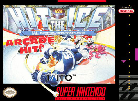 Carátula del juego Hit the Ice (Snes)