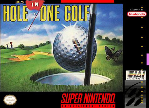 Carátula del juego HAL's Hole in One Golf (Snes)