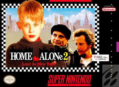 Carátula del juego Home Alone 2 - Lost in New York (Snes)