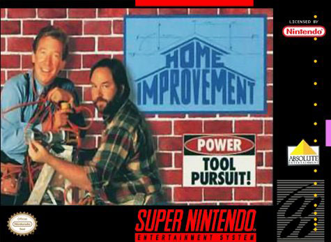 Carátula del juego Home Improvement (Snes)