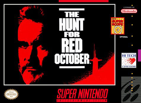 Carátula del juego The Hunt for Red October (Snes)
