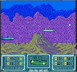 Pantallazo del juego online The Hunt for Red October (Snes)