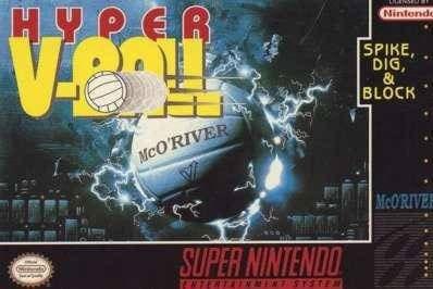 Carátula del juego Hyper V-Ball (Snes)