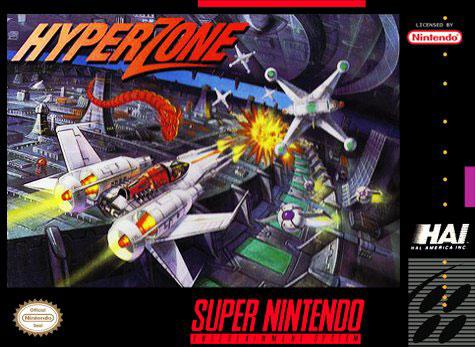 Carátula del juego HyperZone (Snes)
