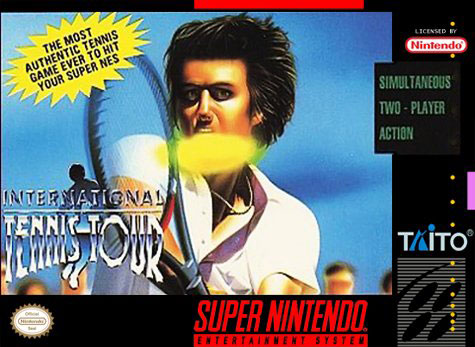 Carátula del juego International Tennis Tour (Snes)