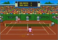 Pantallazo del juego online International Tennis Tour (Snes)