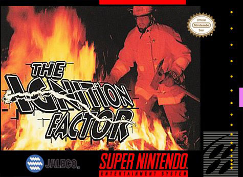 Carátula del juego The Ignition Factor (Snes)