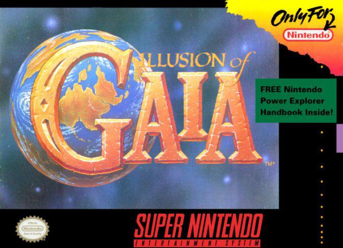 Carátula del juego Illusion of Gaia (Snes)