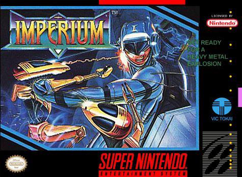 Carátula del juego Imperium (Snes)