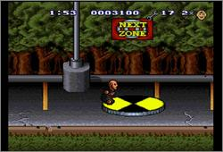 Pantallazo del juego online The Incredible Crash Dummies (Snes)