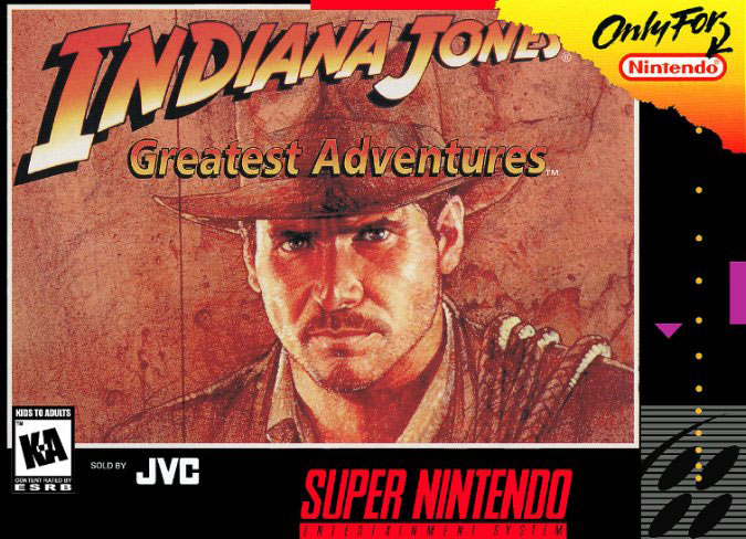 Carátula del juego Indiana Jones - Greatest Adventures (Snes)