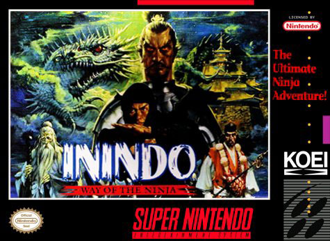 Carátula del juego Inindo - The Way of the Ninja (Snes)