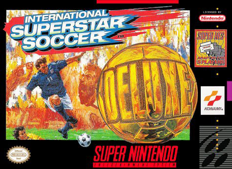Carátula del juego International Superstar Soccer Deluxe (Snes)