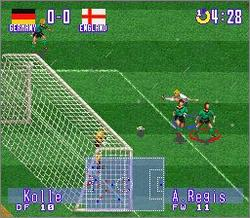 Pantallazo del juego online International Superstar Soccer Deluxe (Snes)