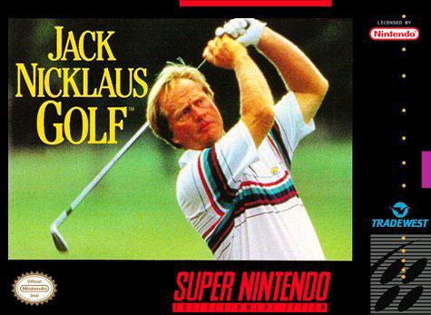 Carátula del juego Jack Nicklaus Golf (Snes)