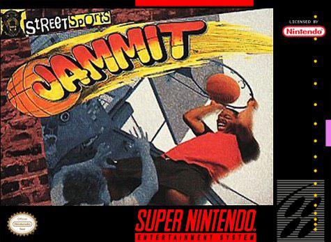 Carátula del juego Jammit (Snes)