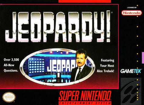 Carátula del juego Jeopardy (Snes)