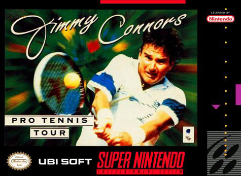 Carátula del juego Jimmy Connors Pro Tennis Tour (Snes)