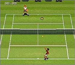 Pantallazo del juego online Jimmy Connors Pro Tennis Tour (Snes)