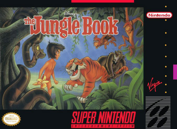 Carátula del juego Disney's The Jungle Book (Snes)