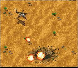 Pantallazo del juego online Jungle Strike (Snes)