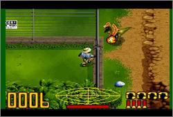 Pantallazo del juego online Jurassic Park (Castellano) (Snes)