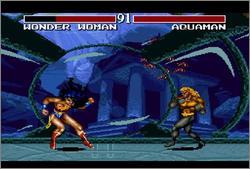 Pantallazo del juego online Justice League Task Force (Snes)