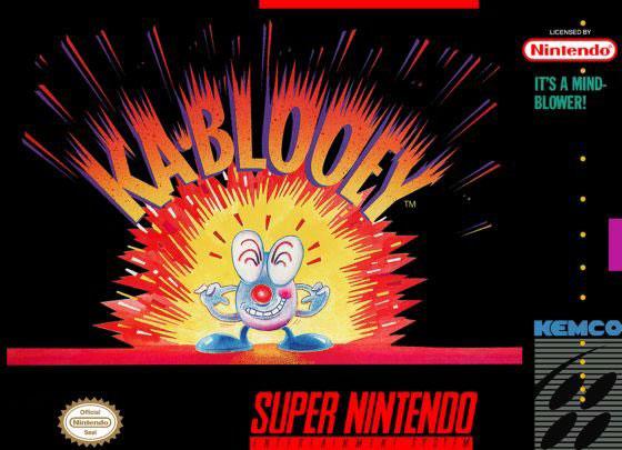 Carátula del juego Kablooey (Snes)