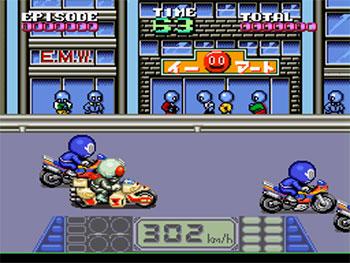 Imagen de la descarga de Kamen Rider SD: Shutsugeki!! Rider Machine