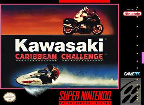 Carátula del juego Kawasaki Caribbean Challenge (Snes)
