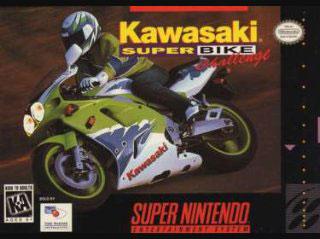Carátula del juego Kawasaki Super Bike Challenge (Snes)