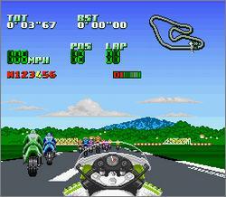 Pantallazo del juego online Kawasaki Super Bike Challenge (Snes)
