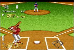 Pantallazo del juego online Ken Griffey Jr Presents Major League Baseball (Snes)