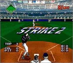 Pantallazo del juego online Ken Griffey Jr's Winning Run (Snes)