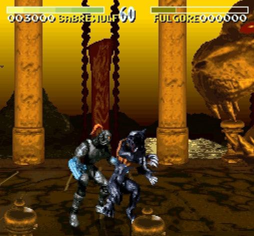 Pantallazo del juego online Killer Instinct (Snes)