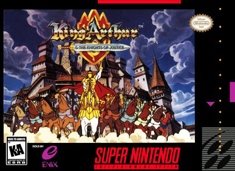 Carátula del juego King Arthur and the Knights of Justice (Snes)