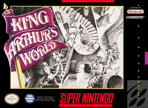 Carátula del juego King Arthur's World (Snes)